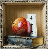 Peinture Trompe Oeil bruno logan, peintre en trompe l'oeil.